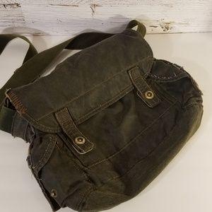Handbags - Adorable distressed crossbody purse